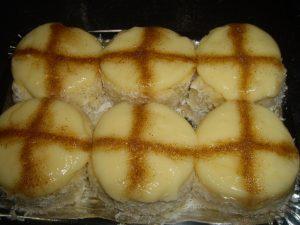 pastel de cruz
